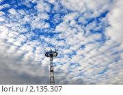 Вышка. Стоковое фото, фотограф Евгений Безгодов / Фотобанк Лори
