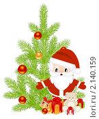 Купить «Новый год», иллюстрация № 2140159 (c) Костенюкова Наталия / Фотобанк Лори