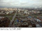 Купить «Развязка Минского шоссе и МКАД», фото № 2141047, снято 24 октября 2008 г. (c) Дмитрий Бакулин / Фотобанк Лори