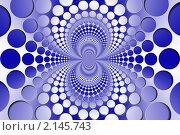 Купить «Абстрактный бело-голубой узор», иллюстрация № 2145743 (c) Владимир Сергеев / Фотобанк Лори