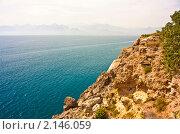 Средиземное море таврические горы тороса. Стоковое фото, фотограф Дмитрий Александров / Фотобанк Лори
