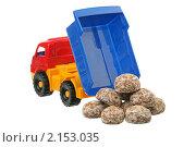 Купить «Самосвал и пряники», фото № 2153035, снято 21 ноября 2010 г. (c) Игорь Веснинов / Фотобанк Лори