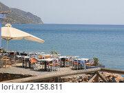 Греческое кафе (2010 год). Стоковое фото, фотограф Дмитрий Ковырялов / Фотобанк Лори
