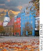 Купить «Торговая площадь немецкого города Йены в Тюрингии, Германия», фото № 2159143, снято 10 октября 2010 г. (c) Аnna Ivanova / Фотобанк Лори
