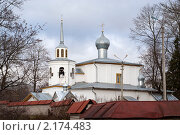Храм апостола Иоанна Богослова. Стоковое фото, фотограф Максим Шагалов / Фотобанк Лори