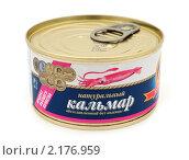 Купить «Кальмар консервированный», эксклюзивное фото № 2176959, снято 27 ноября 2010 г. (c) Юрий Морозов / Фотобанк Лори