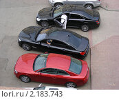 Транспорт. Вид сверху, эксклюзивное фото № 2183743, снято 23 июня 2010 г. (c) lana1501 / Фотобанк Лори