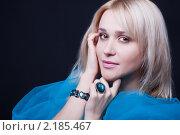 Портрет красивой блондинки. Стоковое фото, фотограф SvetlanaPanteleeva / Фотобанк Лори