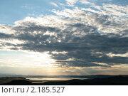 Купить «Закат в горах Хакасии», фото № 2185527, снято 14 июля 2010 г. (c) Пересыпкина Елена Игоревна / Фотобанк Лори