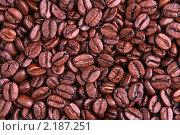Купить «Зёрна кофе. Крупный план.», фото № 2187251, снято 3 декабря 2010 г. (c) Дмитрий Куш / Фотобанк Лори