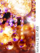 Купить «Рождественский блестящий фон», фото № 2187459, снято 22 ноября 2010 г. (c) Вероника Галкина / Фотобанк Лори