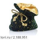 Купить «Рождественский мешок», фото № 2188951, снято 12 ноября 2010 г. (c) Наталия Евмененко / Фотобанк Лори