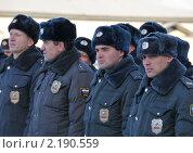 Купить «Милиционеры ППС», эксклюзивное фото № 2190559, снято 25 ноября 2010 г. (c) Free Wind / Фотобанк Лори