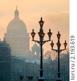 Купить «Городские силуэты. Санкт-Петербург», эксклюзивное фото № 2193619, снято 23 января 2010 г. (c) Александр Алексеев / Фотобанк Лори