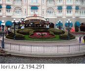 Парижский Диснейленд (2010 год). Редакционное фото, фотограф Татьяна Крамаревская / Фотобанк Лори
