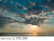 Небо над морем. Стоковое фото, фотограф Екатерина Давыдова / Фотобанк Лори