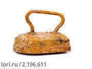 Купить «Старый ржавый утюг», фото № 2196611, снято 12 июня 2010 г. (c) Куликов Константин / Фотобанк Лори