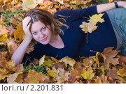 Беременная в парке. Стоковое фото, фотограф Кристина Викулова / Фотобанк Лори