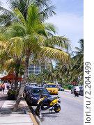 Набережная Ocean Drive, Miami (2008 год). Редакционное фото, фотограф Евгения Фурсова / Фотобанк Лори