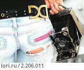 Этюды со старым фотоаппаратом. Стоковое фото, фотограф Олег Седов / Фотобанк Лори
