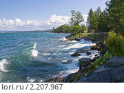Купить «Озеро Байкал», фото № 2207967, снято 6 сентября 2009 г. (c) Евгений Кузьмин / Фотобанк Лори