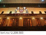 Купить «Цирк на Цветном бульваре. Москва», фото № 2208583, снято 25 ноября 2010 г. (c) Владимир Журавлев / Фотобанк Лори