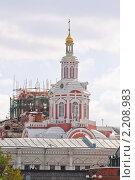 Купить «Спасский собор Заиконоспасского монастыря в Москве», эксклюзивное фото № 2208983, снято 10 сентября 2010 г. (c) Алёшина Оксана / Фотобанк Лори