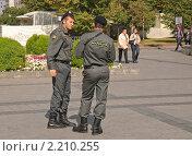 Купить «Сотрудники милиции», эксклюзивное фото № 2210255, снято 10 сентября 2010 г. (c) Алёшина Оксана / Фотобанк Лори