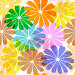 Бесшовный фон с цветами, иллюстрация № 2210479 (c) Ольга Дроздова / Фотобанк Лори