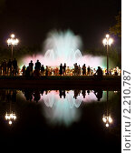 """Барселона, """"Волшебный Фонтан"""" (2009 год). Редакционное фото, фотограф Андрей Востриков / Фотобанк Лори"""