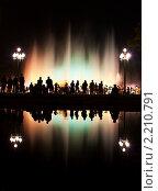 """Купить «Барселона, """"Волшебный Фонтан""""», фото № 2210791, снято 5 сентября 2009 г. (c) Андрей Востриков / Фотобанк Лори"""