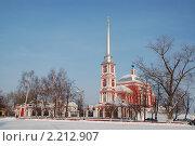 Купить «Ильинская церковь (бывший Троицкий мужской монастырь) в городе Мичуринске», фото № 2212907, снято 13 декабря 2010 г. (c) Дядченко Ольга / Фотобанк Лори