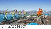 Купить «Торговый порт», фото № 2214667, снято 12 декабря 2010 г. (c) Андрей Пашков / Фотобанк Лори