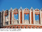 Купить «Фрагмент Кутафьей башни», эксклюзивное фото № 2220291, снято 14 декабря 2010 г. (c) lana1501 / Фотобанк Лори