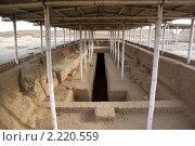 Купить «Руины Чан-Чана, север Перу», фото № 2220559, снято 25 марта 2010 г. (c) Валерий Шанин / Фотобанк Лори