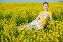 Девушка в поле, фото № 2222087, снято 15 мая 2010 г. (c) Podvysotskiy Roman / Фотобанк Лори