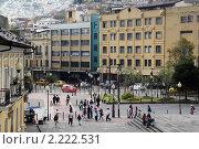 Купить «Площадь в центре старого Кито, Эквадор», фото № 2222531, снято 2 апреля 2010 г. (c) Валерий Шанин / Фотобанк Лори