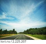 Купить «Дорога», фото № 2225207, снято 27 июля 2010 г. (c) Andrejs Pidjass / Фотобанк Лори