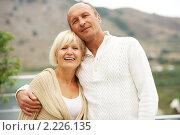 Купить «Зрелая пара», фото № 2226135, снято 8 октября 2010 г. (c) Andrejs Pidjass / Фотобанк Лори