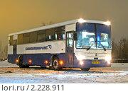 Купить «Автобус», фото № 2228911, снято 17 декабря 2010 г. (c) Art Konovalov / Фотобанк Лори