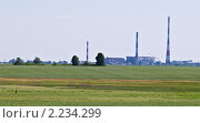 Купить «Курганская ТЭЦ», фото № 2234299, снято 21 июня 2009 г. (c) Andrey M / Фотобанк Лори
