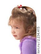 Портрет плачущей девочки. Стоковое фото, фотограф Владислав Зитикис / Фотобанк Лори