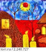 Осень. Стоковая иллюстрация, иллюстратор Фомченкова Юлия / Фотобанк Лори