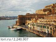 Купить «Валлетта и Гранд-Харбор. Мальта», фото № 2240907, снято 12 декабря 2010 г. (c) Яков Филимонов / Фотобанк Лори