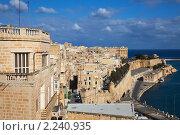 Купить «Валетта и Гранд-Харбор. Мальта», фото № 2240935, снято 12 декабря 2010 г. (c) Яков Филимонов / Фотобанк Лори