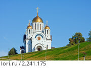 Купить «Самара. Собор святого Георгия Победоносца на площади Славы», фото № 2241175, снято 25 августа 2009 г. (c) ElenArt / Фотобанк Лори