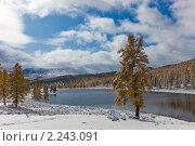 Озеро в горах. Стоковое фото, фотограф Argument / Фотобанк Лори
