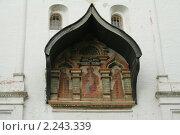 Купить «Надвратная икона Саввино-Сторожевского монастыря», фото № 2243339, снято 31 августа 2008 г. (c) Андрей Бушуев / Фотобанк Лори