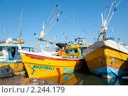 Купить «Порт и рыболовецкие суда. Шри-Ланка», фото № 2244179, снято 13 декабря 2010 г. (c) Екатерина Овсянникова / Фотобанк Лори