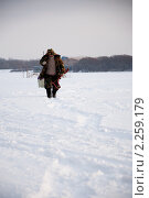 Зимняя рыбалка (2011 год). Стоковое фото, фотограф Рыжов Михаил / Фотобанк Лори